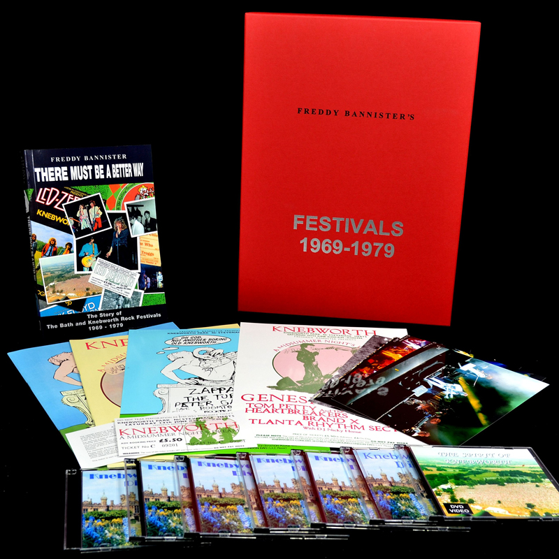 1978 Genesis Knebworth commemorative set