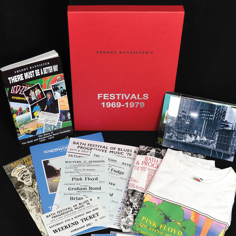 1970-75 Pink Floyd combined commemorative set - SOLD OUT
