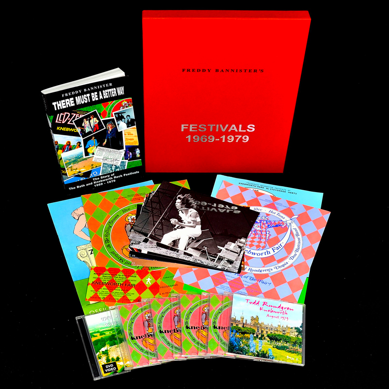 Todd Rundgren Knebworth Commemorative Set
