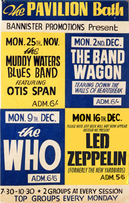 Led Zeppelin - The Who Bath Pavilion